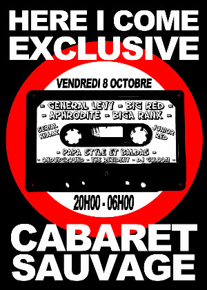 SOIREE HERE I COME EXCLUSIVE @ CABARET SAUVAGE Hereicomecabaretrecto