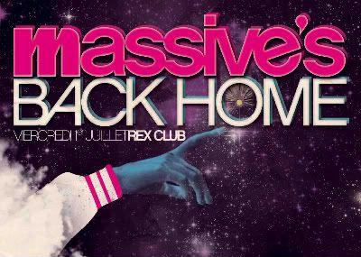 MASSIVE's Back Home - 1er Juillet @ Rex Club Massive3rectocopy