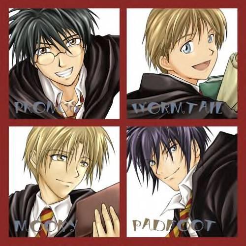 Harry Potter Anime The_Marauders