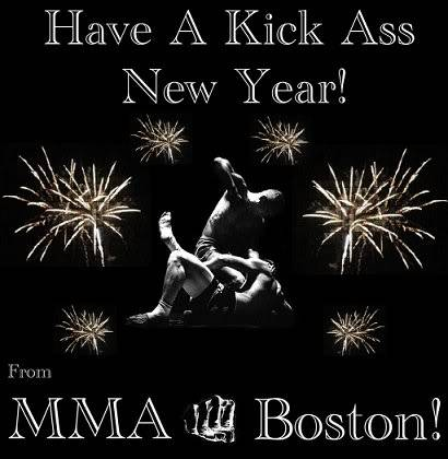 Have a kick ass New Year! Mma