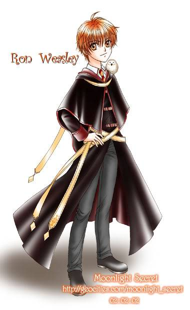 Ronald Bilius Weasley RonWeasleyAnime