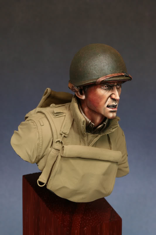 Bust (LB Miniatures) GI Big Red One Etape4