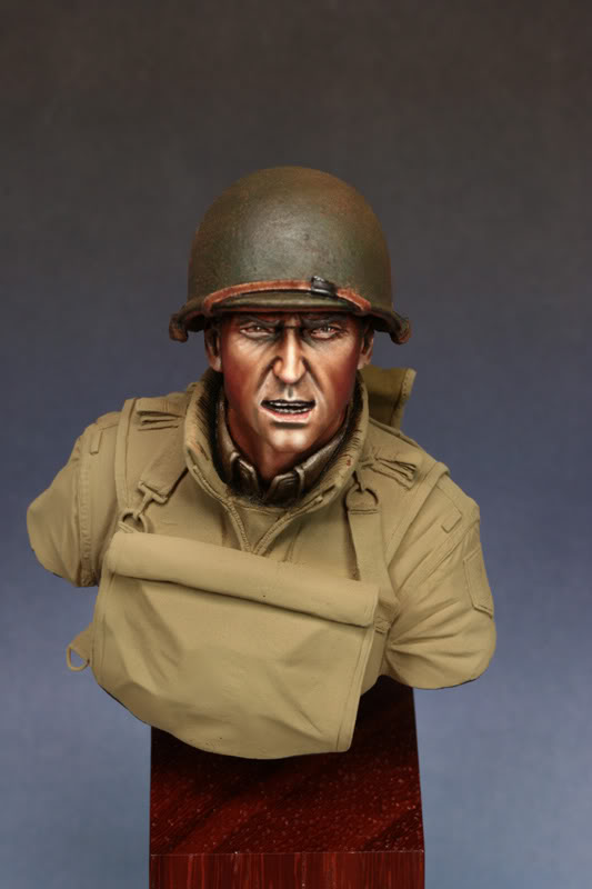 Bust (LB Miniatures) GI Big Red One Etape5