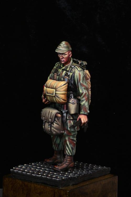 Parachutiste à Dien Bien Phu 75mm Etape15