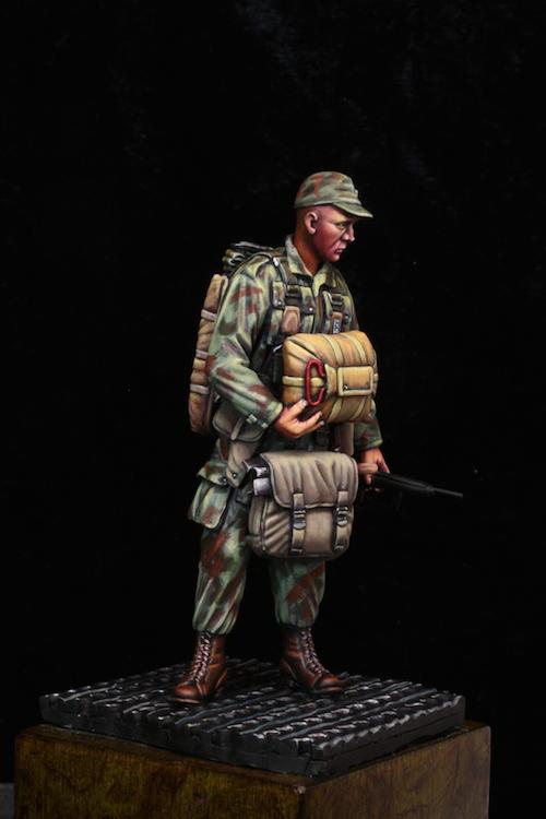 Parachutiste à Dien Bien Phu 75mm Etape16