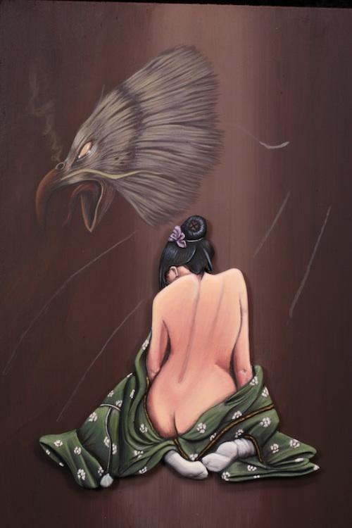 Vitrine Angaliel  Geisha9