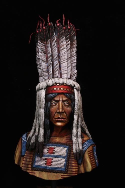 Buste Blackfoot Warrior FINI Final1