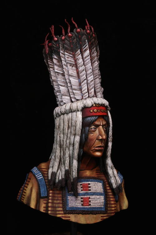 Buste Blackfoot Warrior FINI Final2