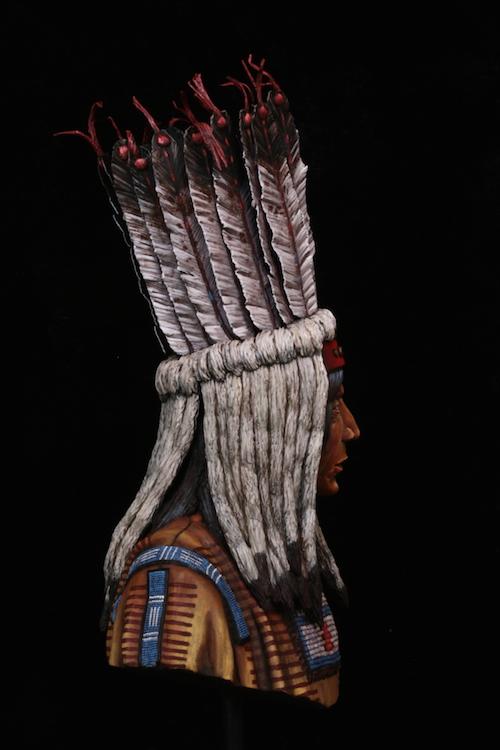Buste Blackfoot Warrior FINI Final3