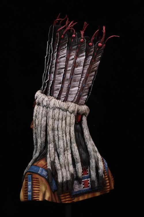Buste Blackfoot Warrior FINI Final6