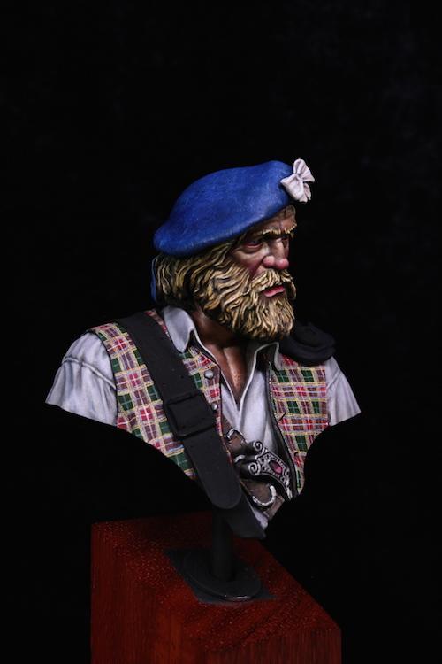 Buste de HIGHLANDER- ANGALIEL / SLR- FINI Etape12