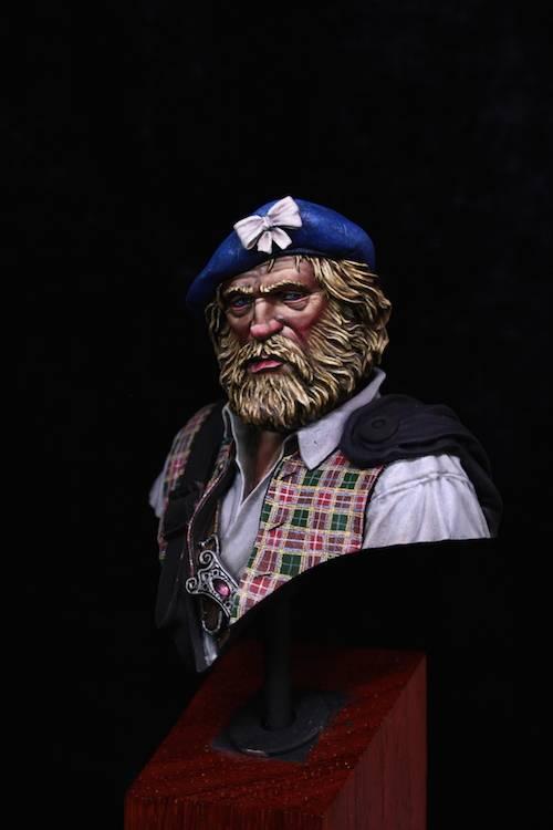 Buste de HIGHLANDER- ANGALIEL / SLR- FINI Etape13