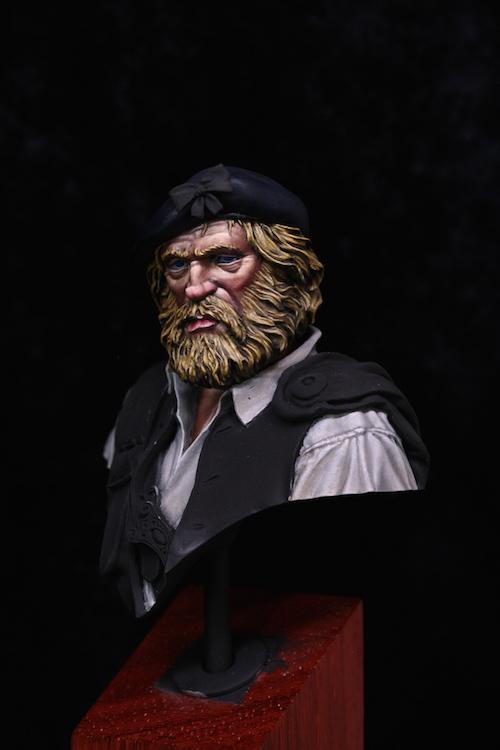 Buste de HIGHLANDER- ANGALIEL / SLR- FINI Etape4