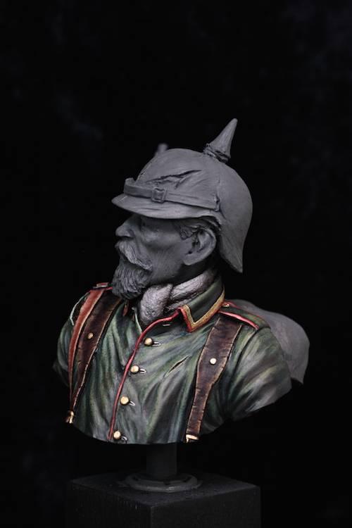 Buste de Soldat Allemand 1914 Etape9