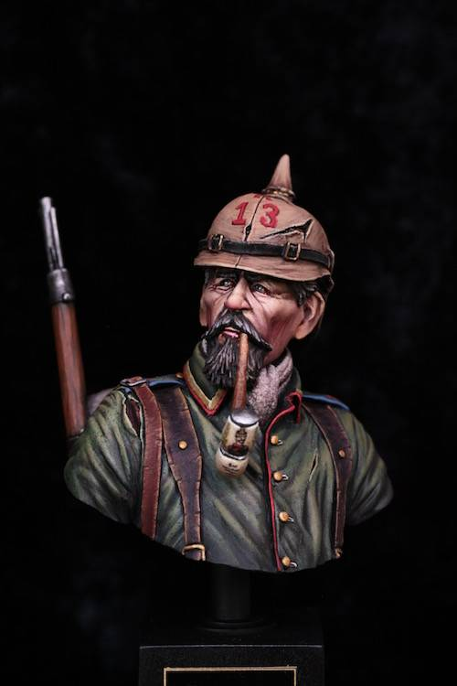 Buste Soldat Allemand 1914 FINI Final1