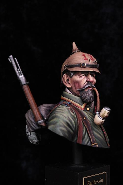 Buste Soldat Allemand 1914 FINI Final2