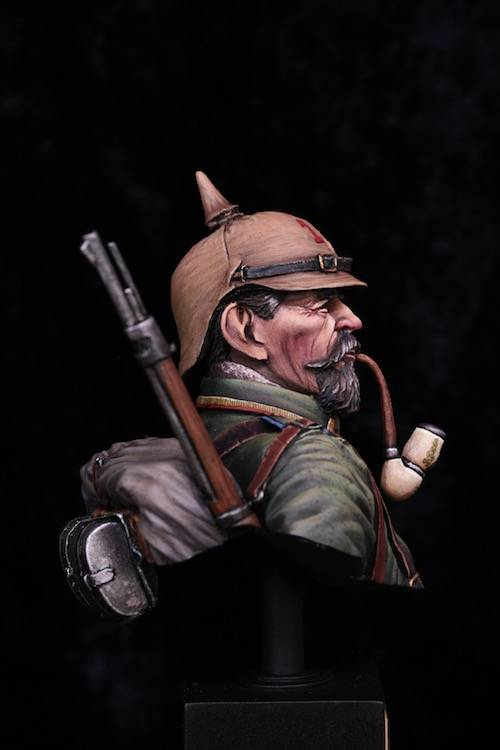 Buste de Soldat Allemand 1914 Final3