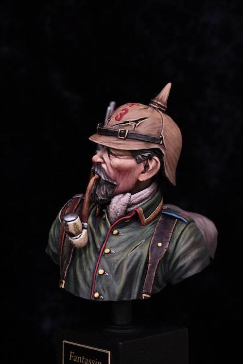 Buste de Soldat Allemand 1914 Final8