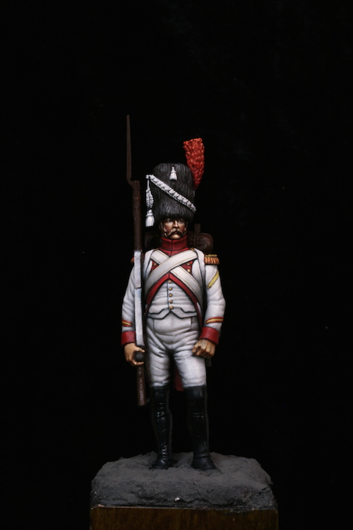 Sergent des Grenadier Hollandais (Metal Modeles) 54mm Etape10