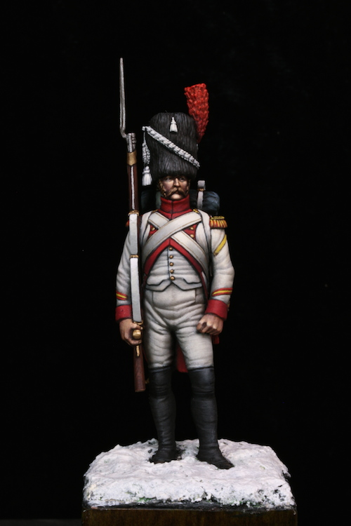Sergent des Grenadier Hollandais (Metal Modeles) 54mm Etape11