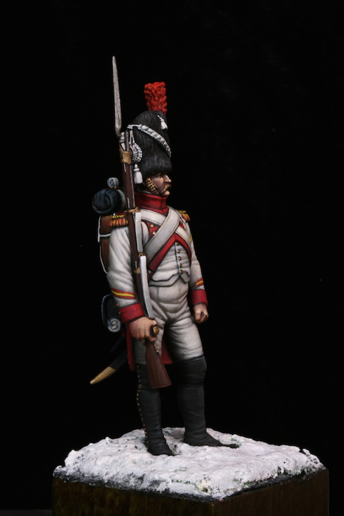Sergent des Grenadier Hollandais (Metal Modeles) 54mm Etape12