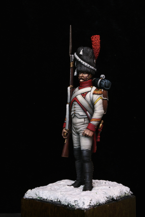 Sergent des Grenadier Hollandais (Metal Modeles) 54mm Etape15