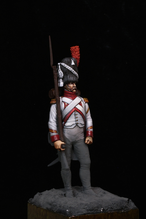 Sergent des Grenadier Hollandais (Metal Modeles) 54mm Etape8