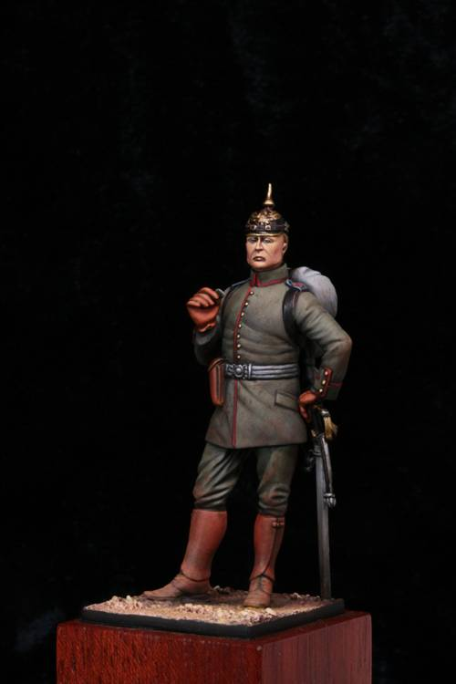 Fini: Officier d'Infanterie Allemand 1914 MM Off1