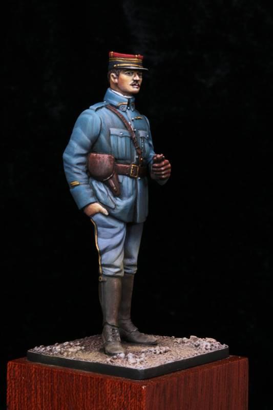 Lieutenant Infanterie Française 1915 Off1