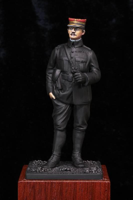 Lieutenant Infanterie Française 1915 Etape1