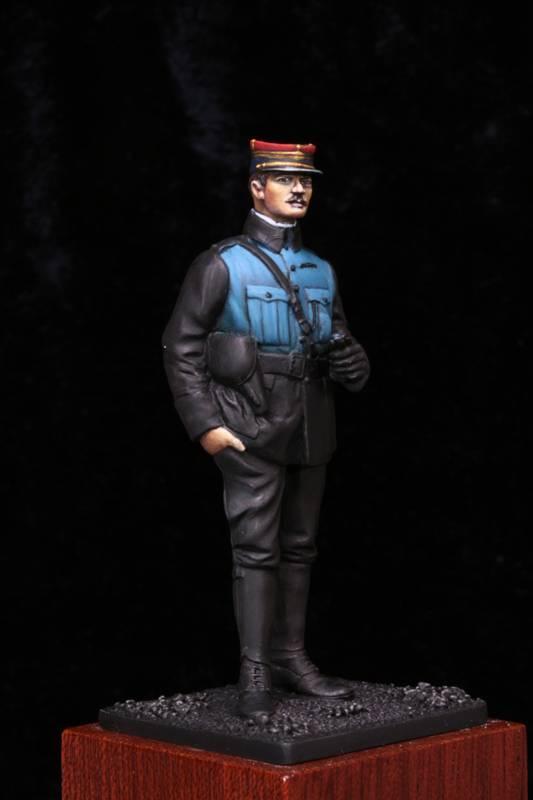 Lieutenant Infanterie Française 1915 Etape2