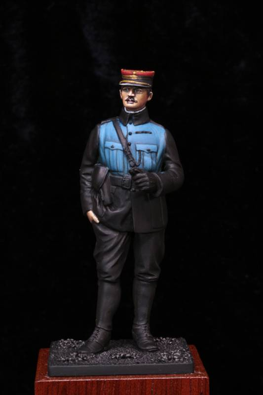 Lieutenant Infanterie Française 1915 Etape3