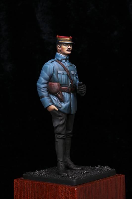 Lieutenant Infanterie Française 1915 Etape4