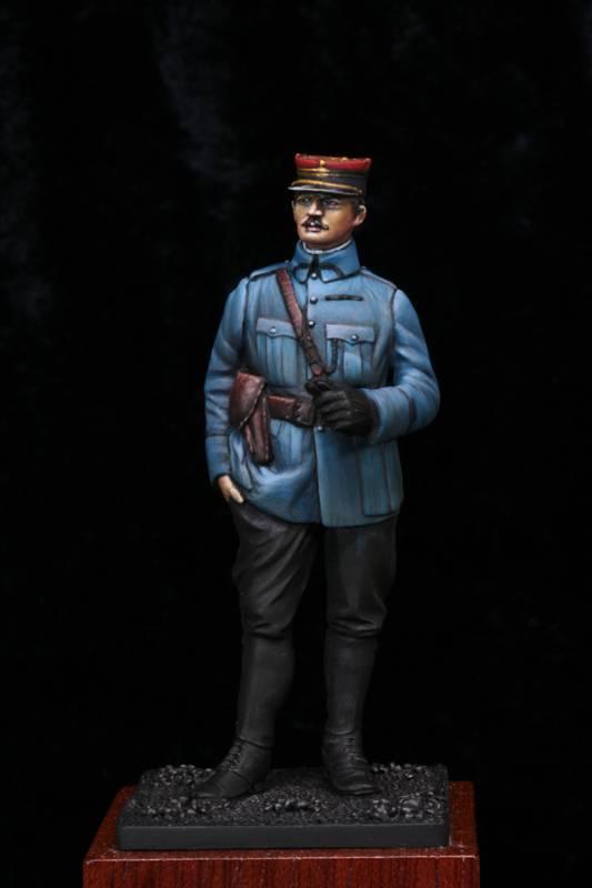Lieutenant Infanterie Française 1915 Etape6