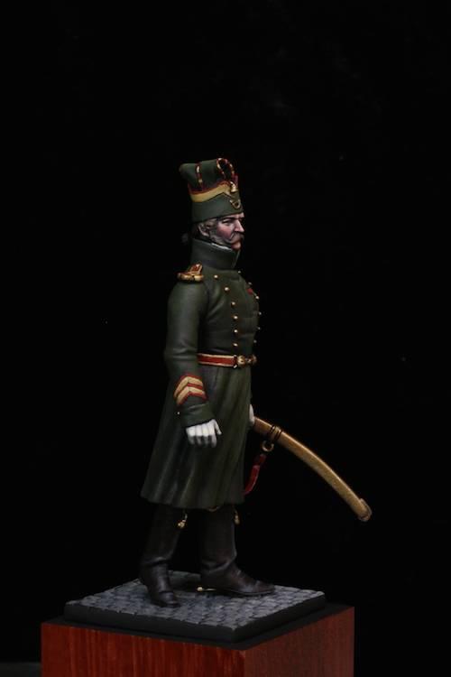 Sous Officier des Chasseurs de la Garde Etape11