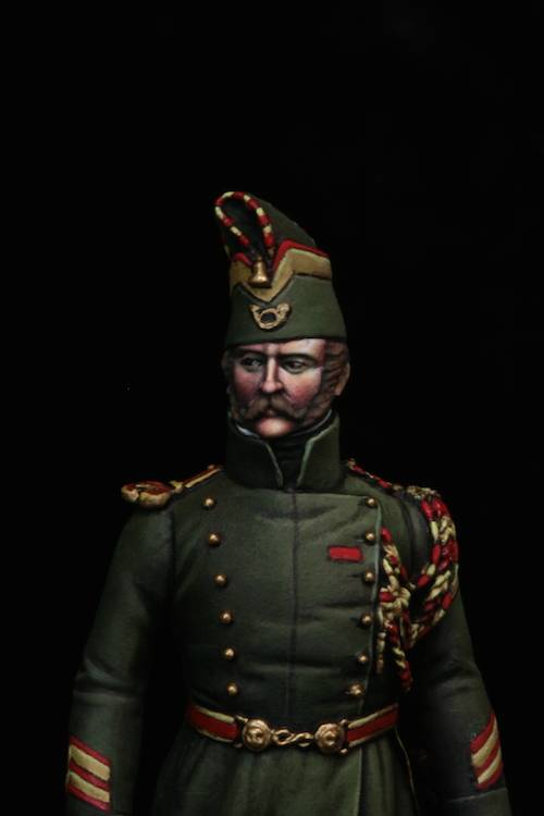 Sous Officier des Chasseurs de la Garde Etape12