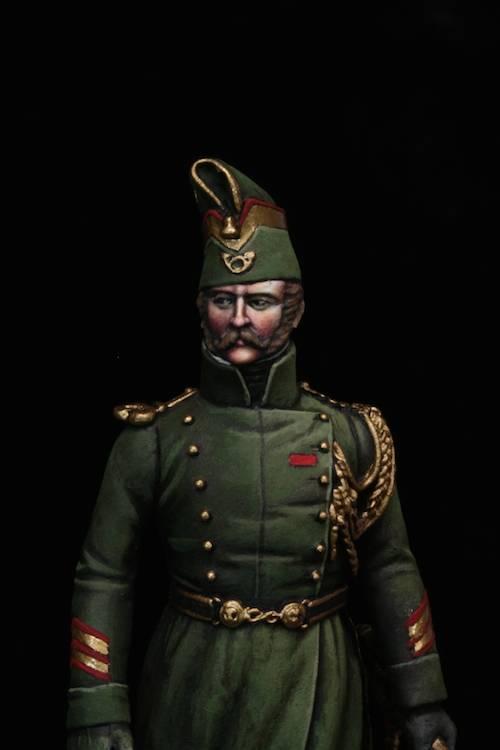Sous Officier des Chasseurs de la Garde Etape5