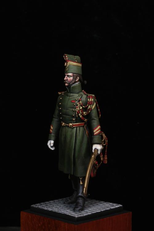 Sous Officier des Chasseurs de la Garde Etape7