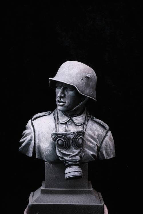 FINI - Buste Stormtrooper WW1 Etape1