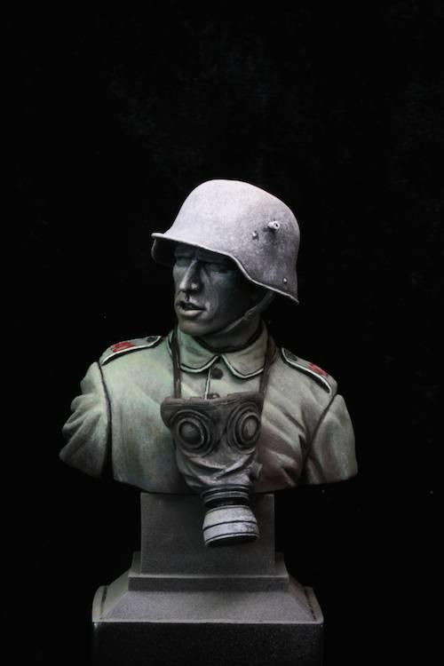 FINI - Buste Stormtrooper WW1 Etape11