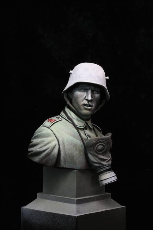 FINI - Buste Stormtrooper WW1 Etape12
