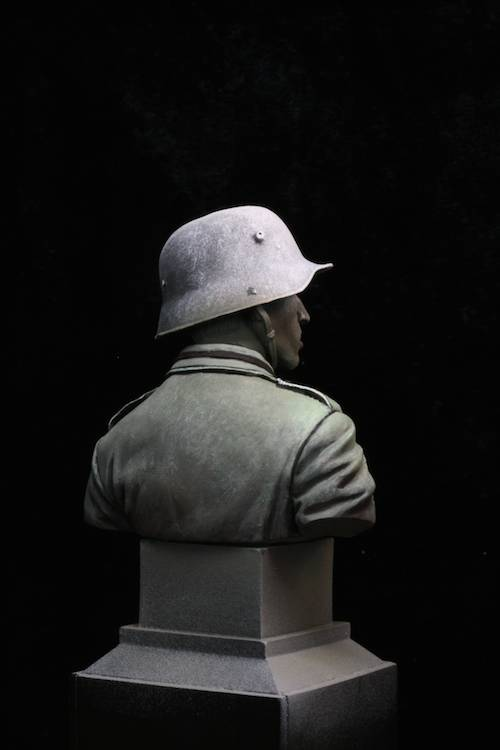 FINI - Buste Stormtrooper WW1 Etape13