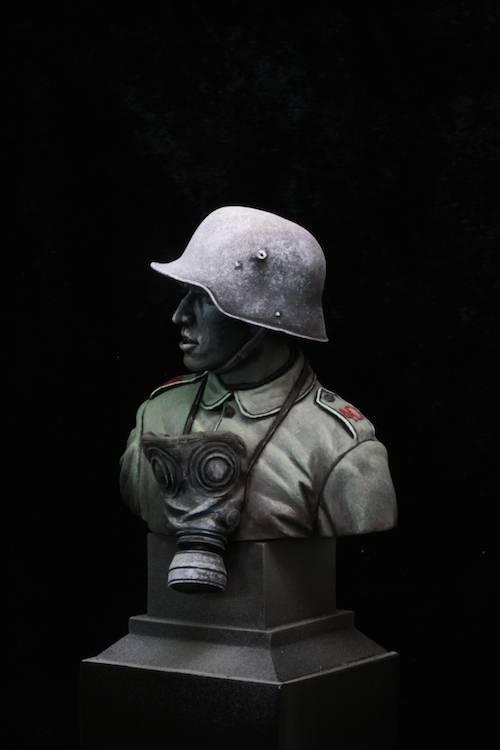 FINI - Buste Stormtrooper WW1 Etape15