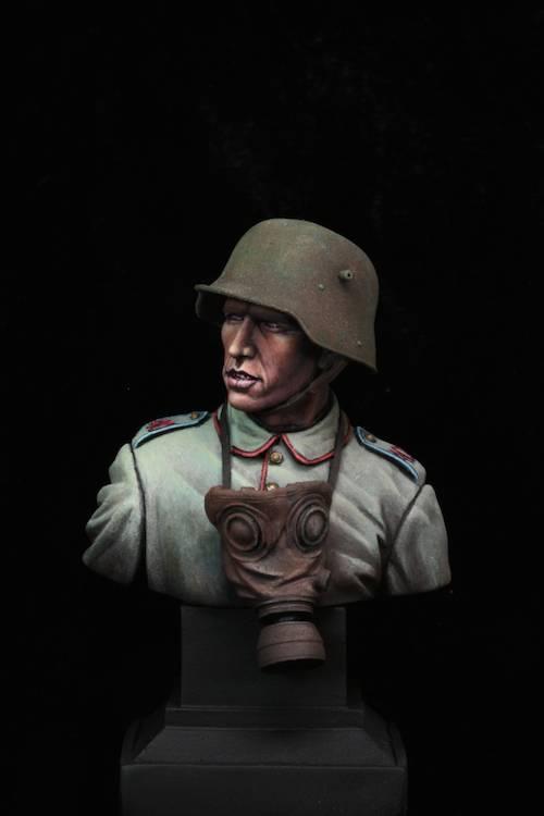 FINI - Buste Stormtrooper WW1 Etape16