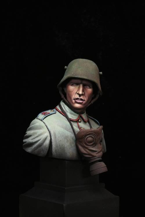 FINI - Buste Stormtrooper WW1 Etape17