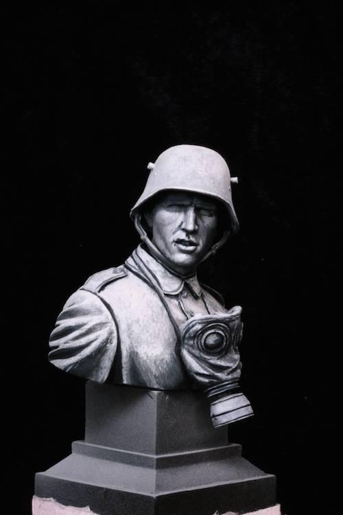 FINI - Buste Stormtrooper WW1 Etape2