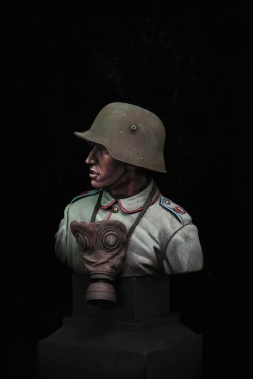 FINI - Buste Stormtrooper WW1 Etape20