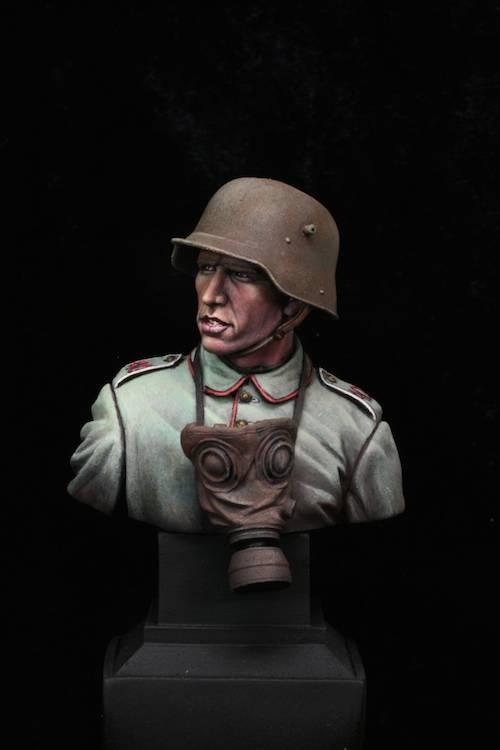 FINI - Buste Stormtrooper WW1 Etape21
