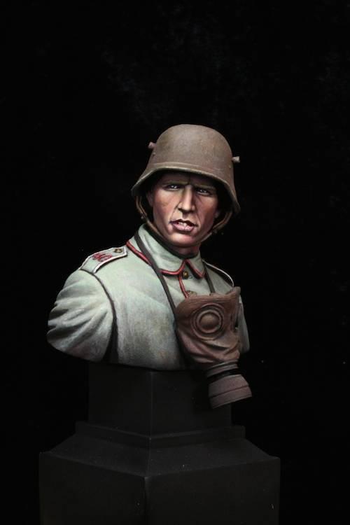 FINI - Buste Stormtrooper WW1 Etape22