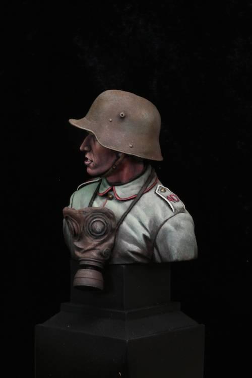 FINI - Buste Stormtrooper WW1 Etape25